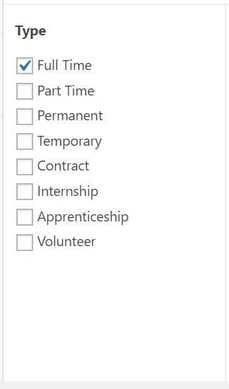 Define jobs by type