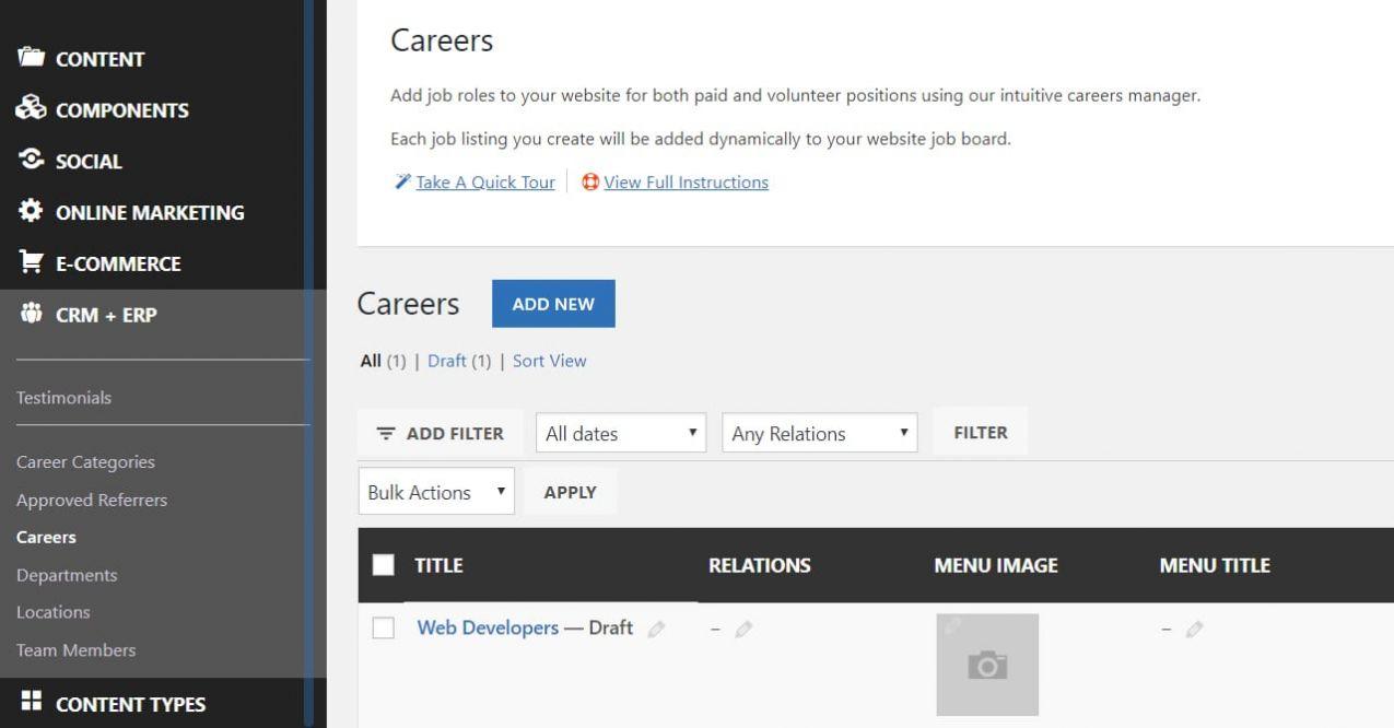 Add Job Listings