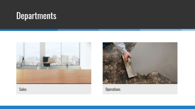 Add your various departments and team members in just a few clicks for a well-rounded experience for your site users.