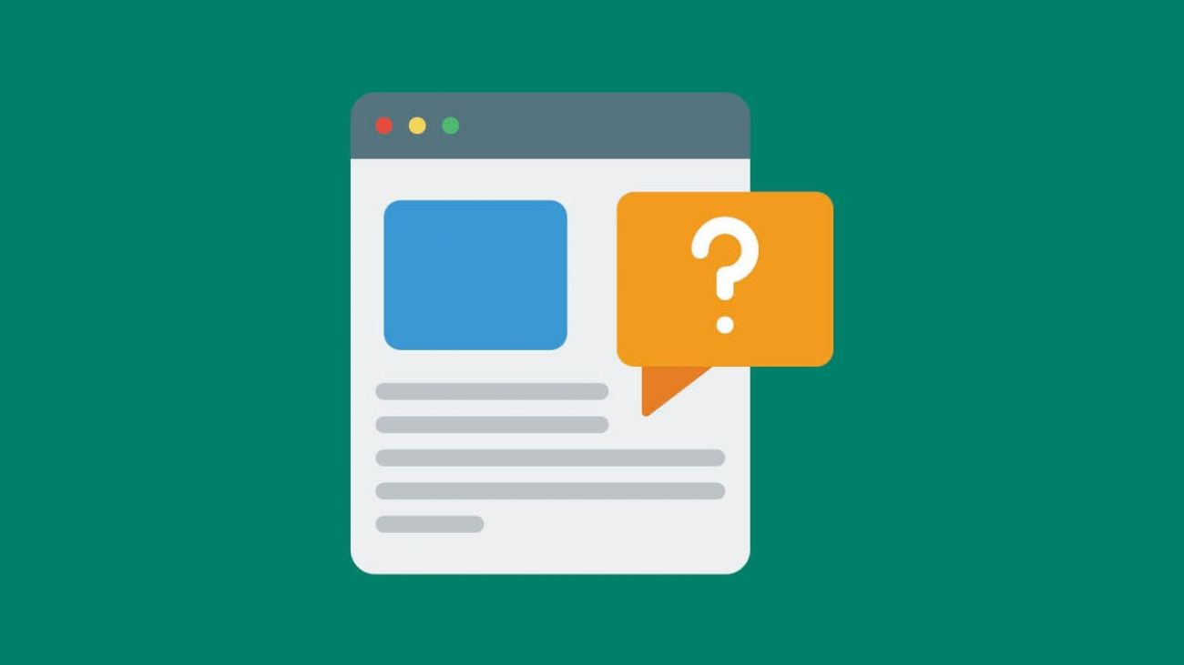 The anatomy of a fantastic FAQs page