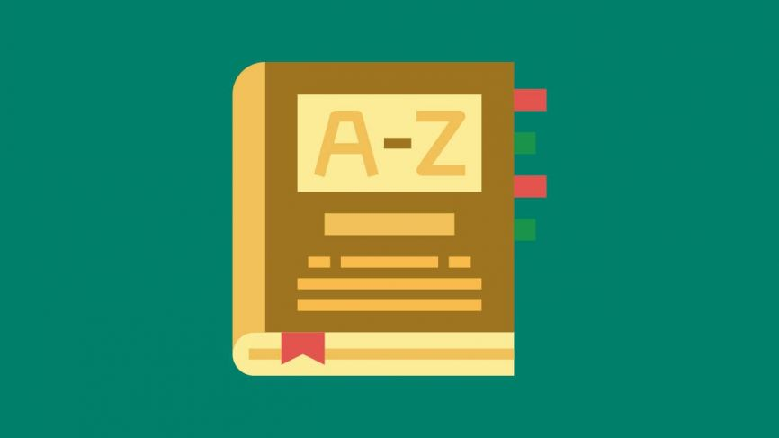 The anatomy of great glossary web pages